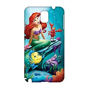 Angl 3D Case Cover Cartoon Little MERMAID Phone Case for Samsung Galaxy Note3