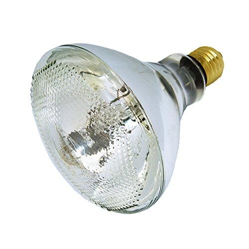 LUCKY HERP 100 Watt UVA UVB Mercury Vapor Bulb Self-Ballasted UV Heat Lamp/Bulb/Light for Reptile and Amphibian (100W - Uva 100