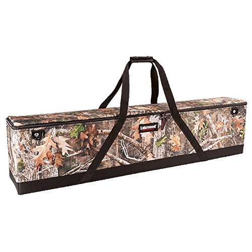 Lakewood Double Scoped Rifle Case - Kanati Camo B142-TTK ()