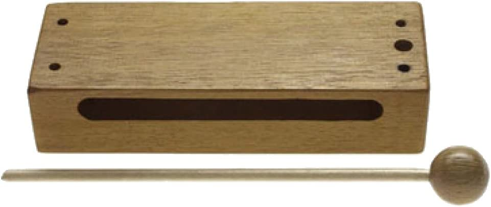 Small Stagg WB-226S Thai Wooden Block avec maillet