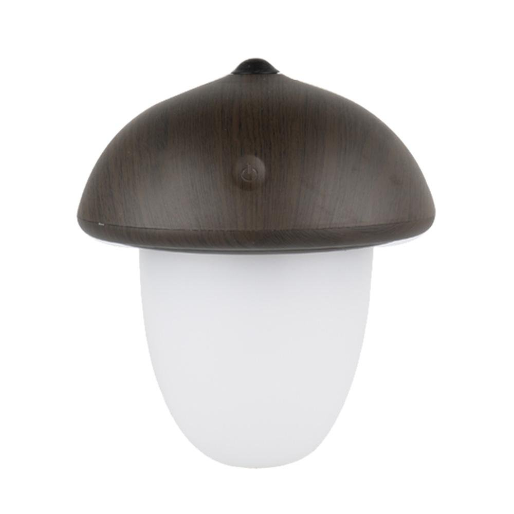 AOLVO LED Night Light with Battery,Eye Caring LED Nursery Lamp for Kids,Mushroom Lamp Romantic Color Change for Decration