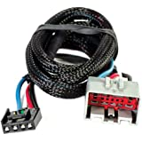 Husky 31862 Flat Connector Custom Wiring Harness for Brake Controller