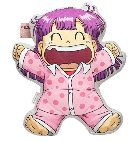 SD Toys Dr Slump- Cojin del personaje Arale, Acrilico, Rosa, 45 x 45 x 8