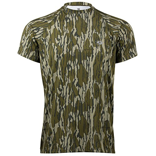 - Mossy Oak Men's Camo Short Sleeve Performance Tech Tee Hunting Shirt Available in Multiple Camouflage Patterns