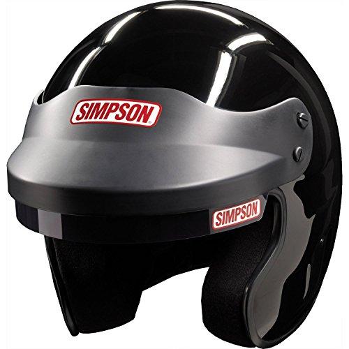 Simpson 6320032 Cruiser Helmet (Large Black)