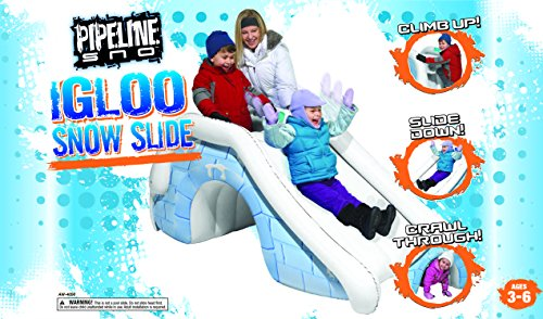 Pipeline Igloo Snow Slide Snow Fort