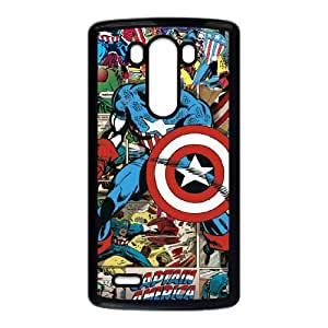 Captain America for LG G3 Phone Case Cover CA7650