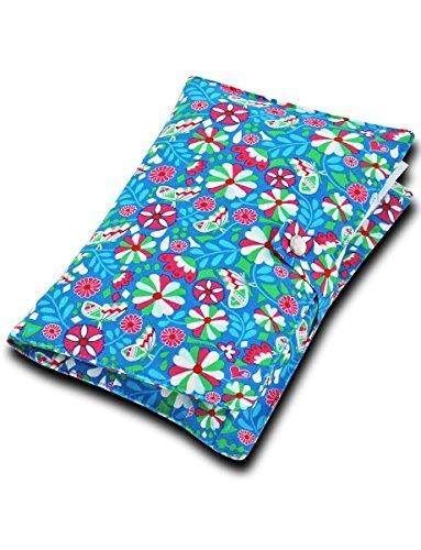 boubalou Blossoms Pochette de change en tissu
