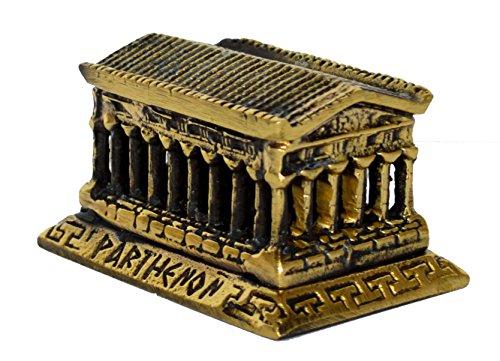 Estia Creations Parthenon Bronze Mini Sculpture Temple Great Artifact Symbol of Athens Acropolis
