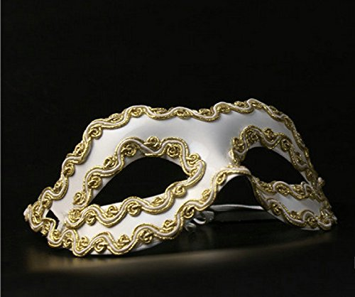 Halloween Mask Makeup Party Stage Performance Men And Women Cool Party Party Mystery Camouflage Mask,B ()