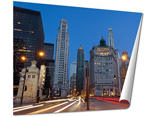 Ashley Giclee Fine Art Print, Michigan Avenue In Chicago, 16x20, - Best Buy Michigan Chicago Avenue