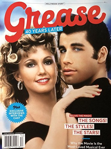 Hollywood Story GREASE 40 YEARS LATER 2018 NEW MAGAZINE John - Mint Hollywood