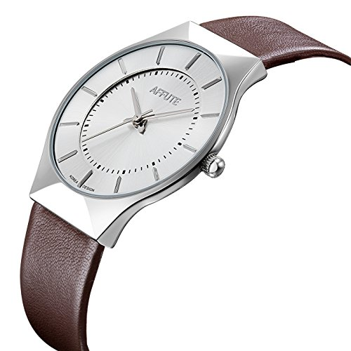 Tamlee Stylish Leather Watches Waterproof product image