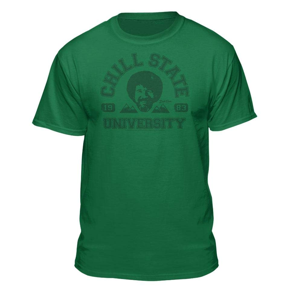 Bob Ross Chill State University Graphic T Shirt For And 4198