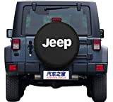 jeep 31 tire covers - Spare Tire Cover,Moonet Jeep Wrangler Black Tire Covers (R 17)