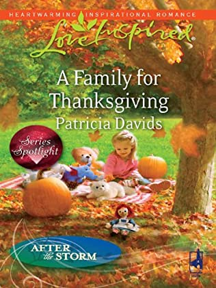 book cover of A Family for Thanksgiving