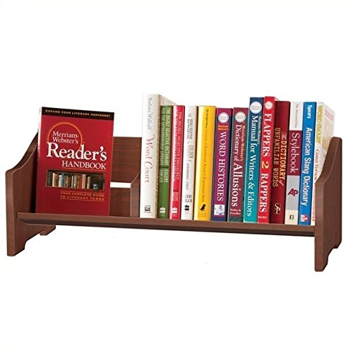 Guidecraft Tabletop Book Browser Set, Cherry (Tabletop Bookcase)