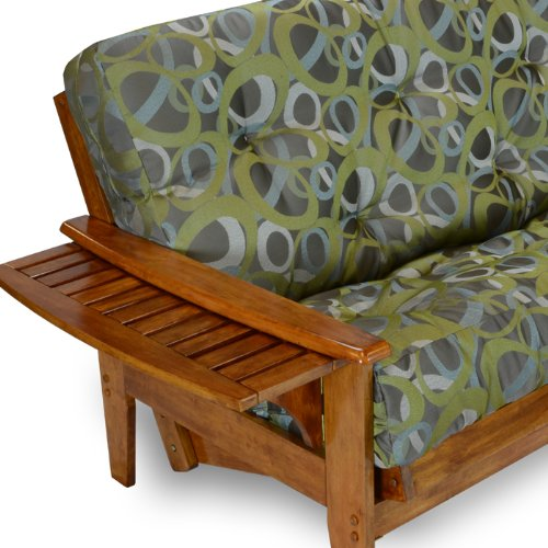Nirvana Futons Eastridge Futon Frame - Queen Size, Solid Hardwood