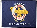 Annin NYL-GLO WWII Commemorative Flag 3 by 4 Foot Review
