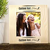 Center Gifts Personalized Beautiful & Elegant Wooden Photo Frame 3'' x 3''