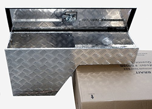 Wheel Well Box (Brait BR10R Pork Chop Fender Well Tool Box Aluminum , Right/Passenger side)