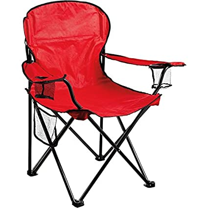 Strange Amazon Com Quest Oversized Arm Chair Red Black Andrewgaddart Wooden Chair Designs For Living Room Andrewgaddartcom
