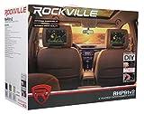 """Pair Rockville RHP91-GR 9"""" Plug N Play Car"""