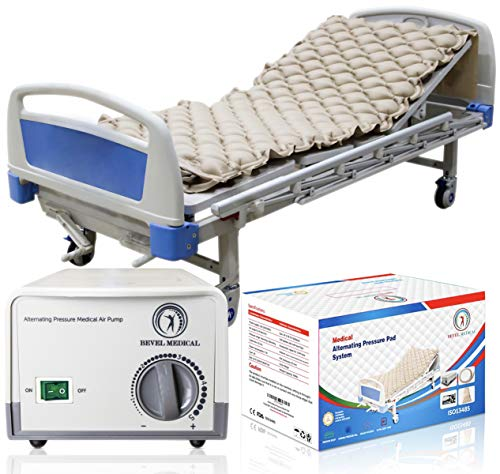 Alternating Air Mattress for Hospital Medical Bed Pressure Sore Relief Pad Topper