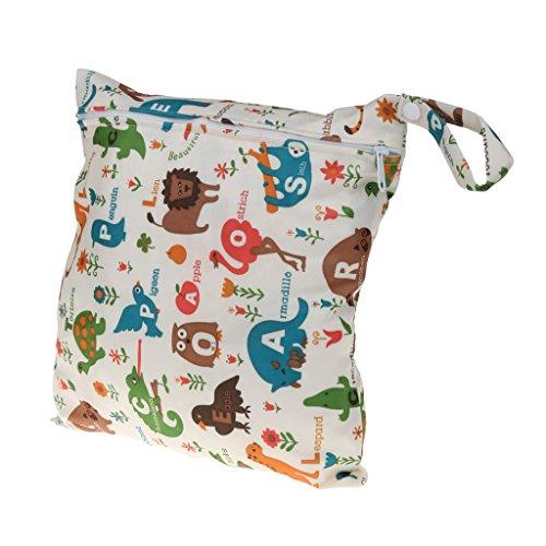Impermeable Con Cremallera Bolsa De Pañales Mojado Bolso De Viaje De Natación Seca para Bebé - # 7 # 1