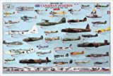 Canadian Aviation - The Early Years Print Poster