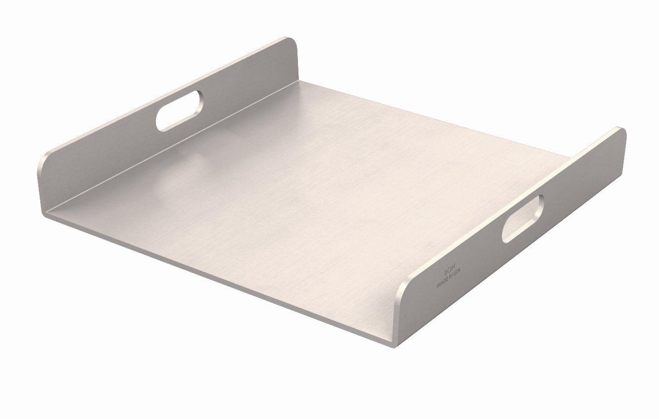 Bon 82-381 Slump Cone Plate Aluminum