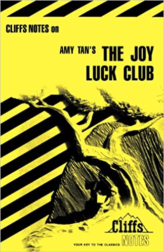 com cliffsnotes on tan s the joy luck club cliffsnotes cliffsnotes on tan s the joy luck club cliffsnotes literature guides 1st edition