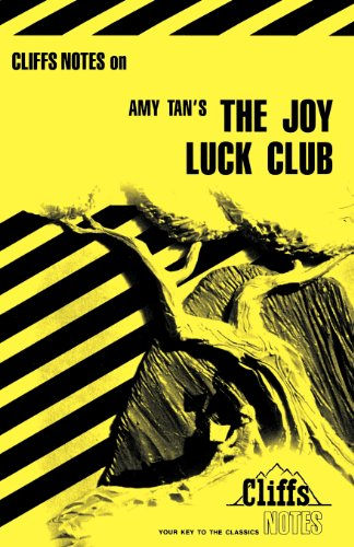 CliffsNotes on Tan's The Joy Luck Club (Cliffsnotes Literature Guides)