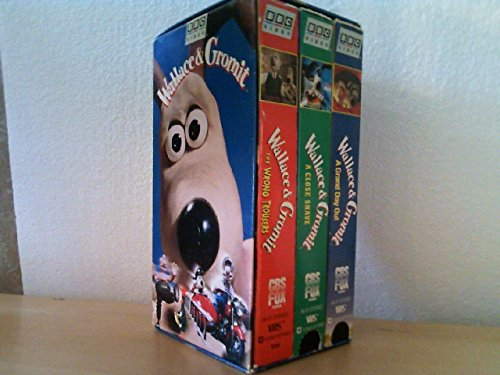 Wallace & Gromit (A Grand Day Out / The Wrong Trousers / A Close Shave)