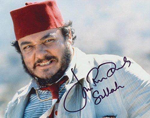- JOHN RHYS-DAVIES as Sallah - Indiana Jones GENUINE AUTOGRAPH