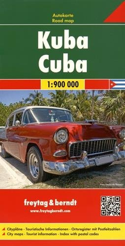 Cuba, Road map 1:900.000 FB 2016 by Freytag-Berndt (2016-01-01)