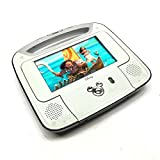 "Disney 7""inch Dual Screen Widescreen LCD Mobile DVD Player DC7500PDD with Remote Control, Car Accessories and 2 Set Headphones. Plays DVDs, Audio CDs, and More"