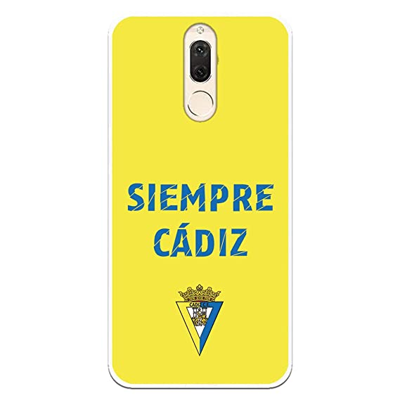 Funda para Huawei Mate 10 Lite Oficial del Cádiz CF Manchas Azules ...