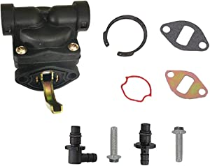 LUOJIA 12-559-02-s Fuel Pump Kit fits for Kohler CH11-CH16 Engine Replaces for Kohler CV13S CV14S CV15S CV16S John Deere AM133627 LT133 LT155 LT150 Lawn Mower Garden Tractors