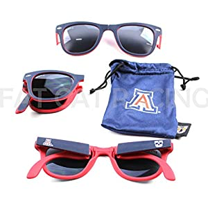 University of Arizona Glass-U Collegiate Sunglasses Officially Licensed