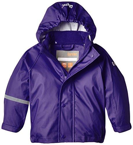CareTec Mädchen wasserdichte Regenjacke, Violett (Purple 633), 98