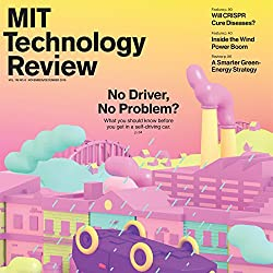 MIT Technology Review, November 2016