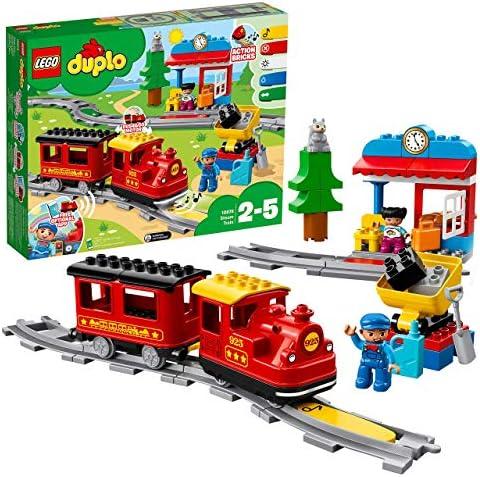LEGO DUPLO Trains - Tren de Vapor, Juguete Educativo de ...
