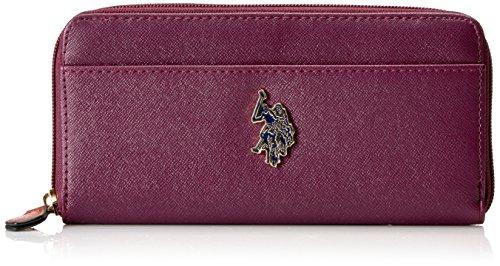 US POLO Association Women's Maiden Wallet, Merlot