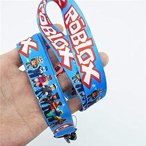 Amazon com : Key Chains - Game Roblox Neck Strap Lanyard