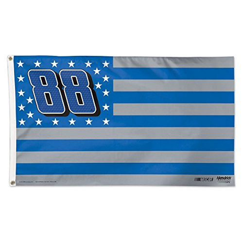 Dale Earnhardt Jr Flag 3x5 Patriotic Stars and Stripes Deluxe Grommets #88