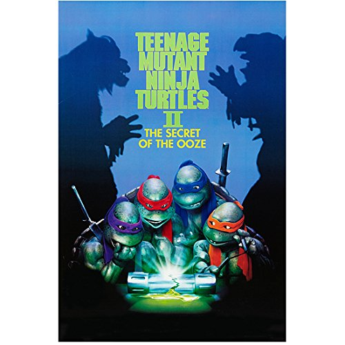 Teenage Mutant Ninja Turtles: The Secret of the Ooze 8 Inch x 10 Inch Photograph Cast Around Glowing Ooze kn