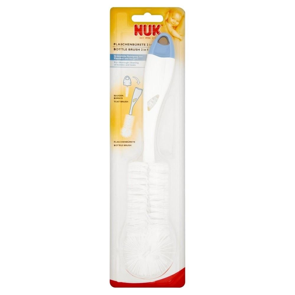 NUK 2 in 1 Bottle and Teat Brush