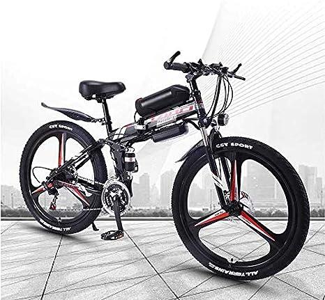 QZ Plegable for Adultos eléctrico de Bicicletas de montaña ...