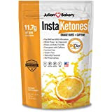 Julianisch Bakery's InstaKetones 11.7g GoBHB Per Scoop +Organic Caffeine (Orange Burst) (1 Pack) (+Caffeine) (30 Servings) Exogenous Ketones